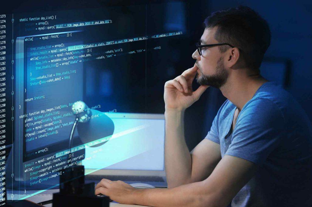 a database developer